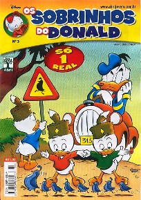 OS SOBRINHOS DO DONALD nº03 - EDITORA ABRIL