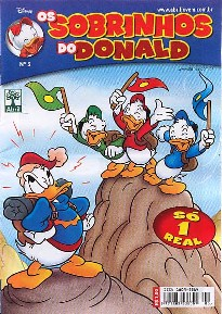 OS SOBRINHOS DO DONALD nº05 - EDITORA ABRIL