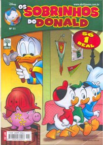 OS SOBRINHOS DO DONALD nº11 - EDITORA ABRIL