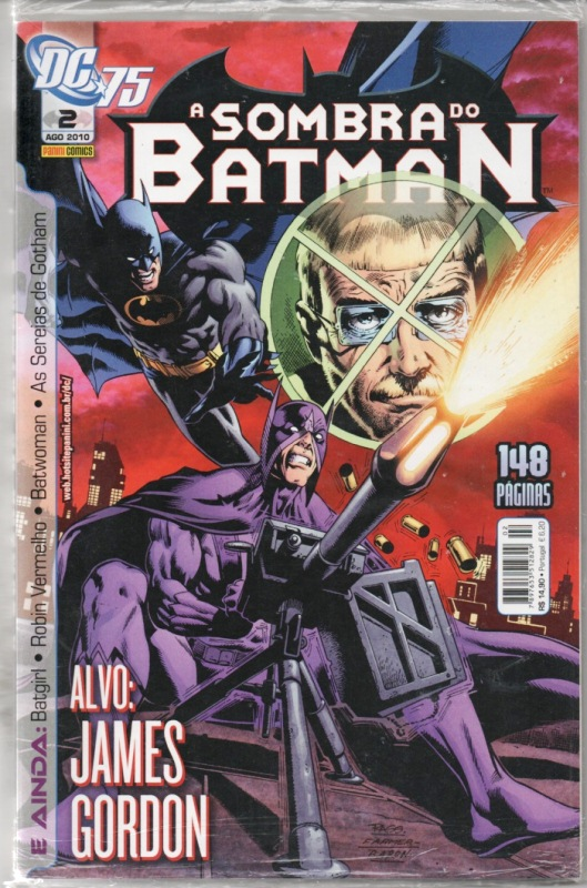 A SOMBRA DO BATMAN nº02 - EDITORA PANINI