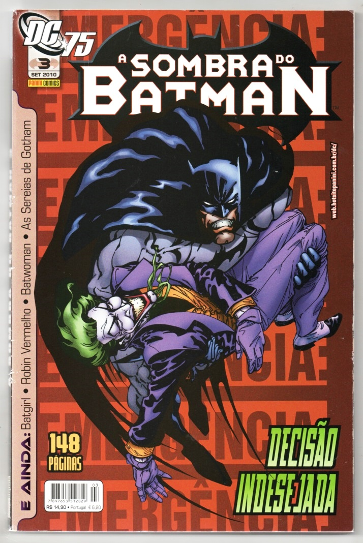 A SOMBRA DO BATMAN nº03 - EDITORA PANINI
