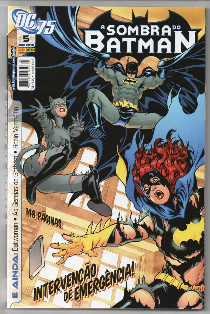 A SOMBRA DO BATMAN nº05 - EDITORA PANINI