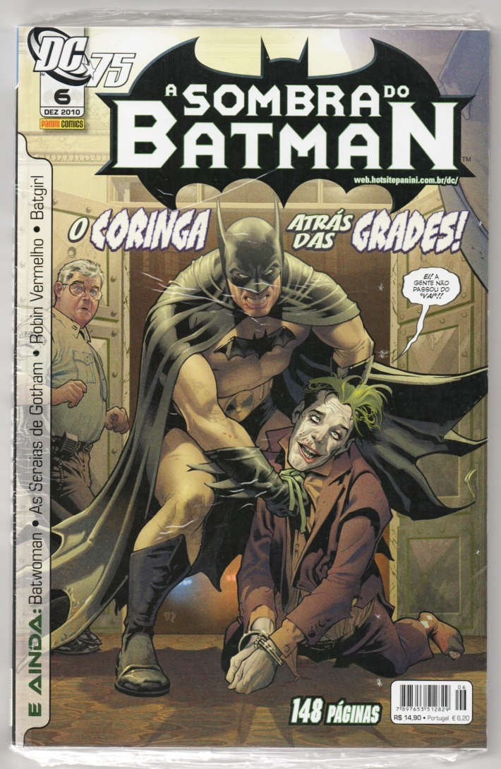 A SOMBRA DO BATMAN nº06 - EDITORA PANINI