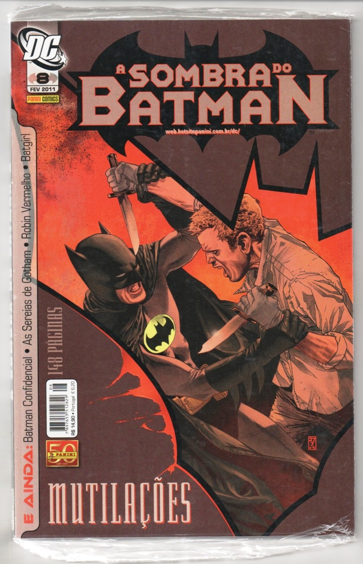 A SOMBRA DO BATMAN nº08 - EDITORA PANINI