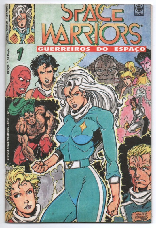 SPACE WARRIORS nº01 - EDITORA ESCALA