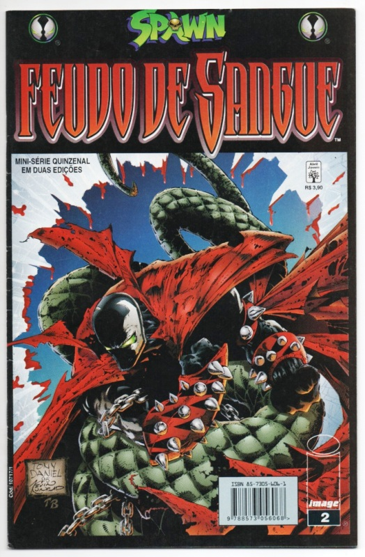 SPAWN - FEUDO DE SANGUE nº02 - ED. ABRIL