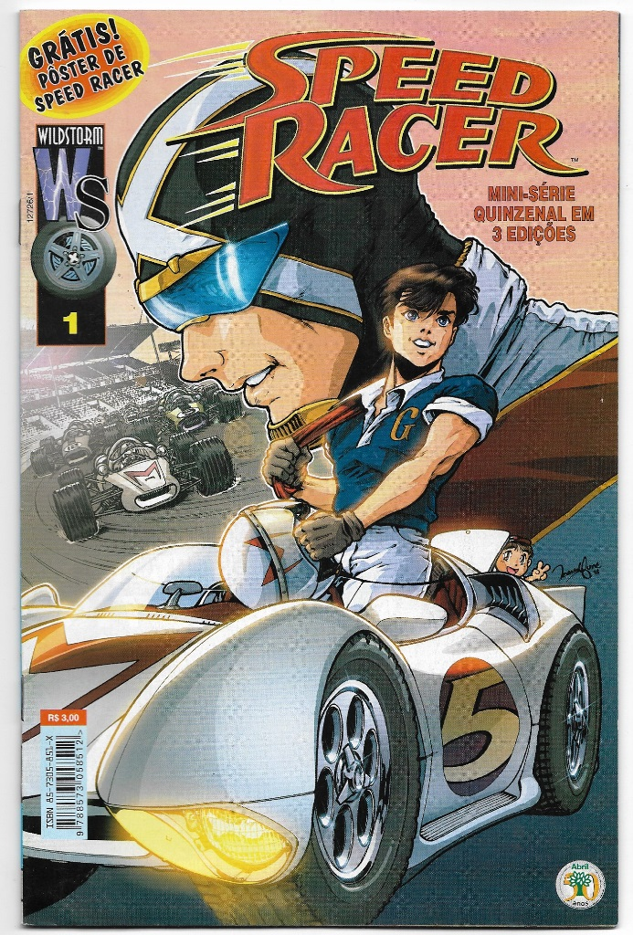 SPEED RACER - ED. ABRIL - MINISSÉRIE PARTE 01