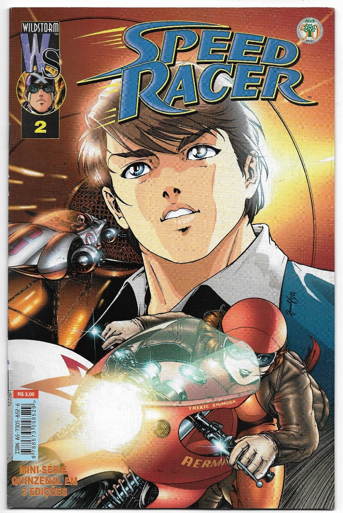 SPEED RACER - ED. ABRIL - MINISSÉRIE PARTE 02