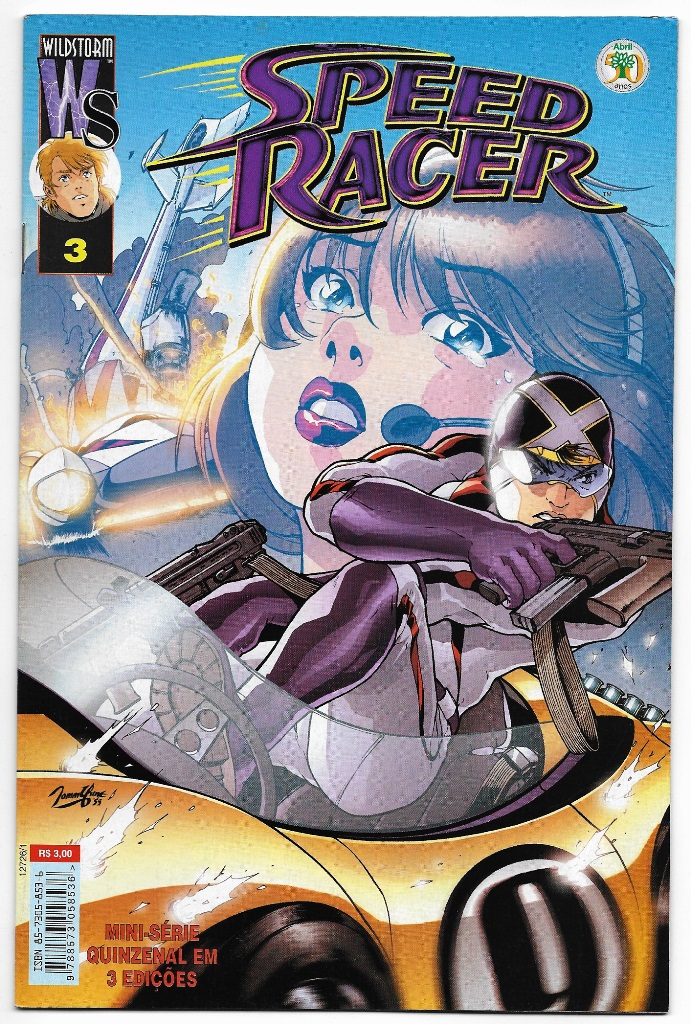 SPEED RACER - ED. ABRIL - MINISSÉRIE PARTE 03