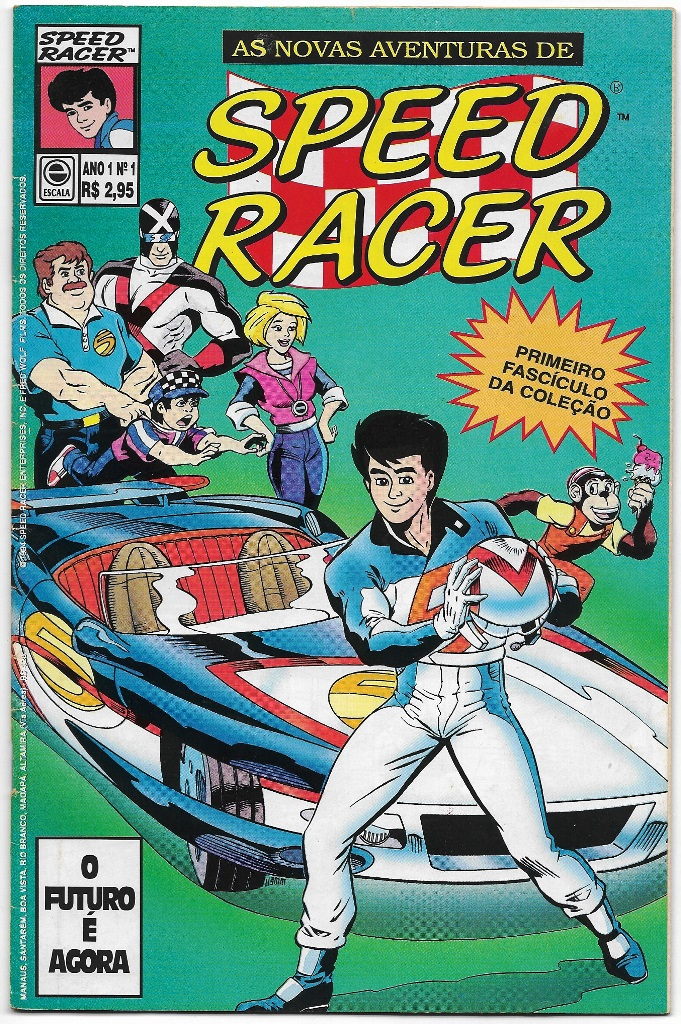AS NOVAS AVENTURAS DE SPEED RACER nº01 - EDITORA ESCALA