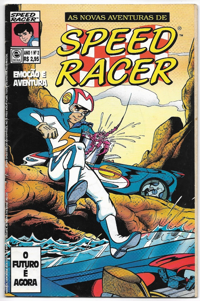 AS NOVAS AVENTURAS DE SPEED RACER nº02 - EDITORA ESCALA