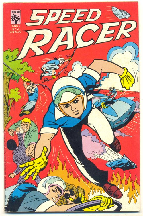 SPEED RACER nº02 - EDITORA ABRIL
