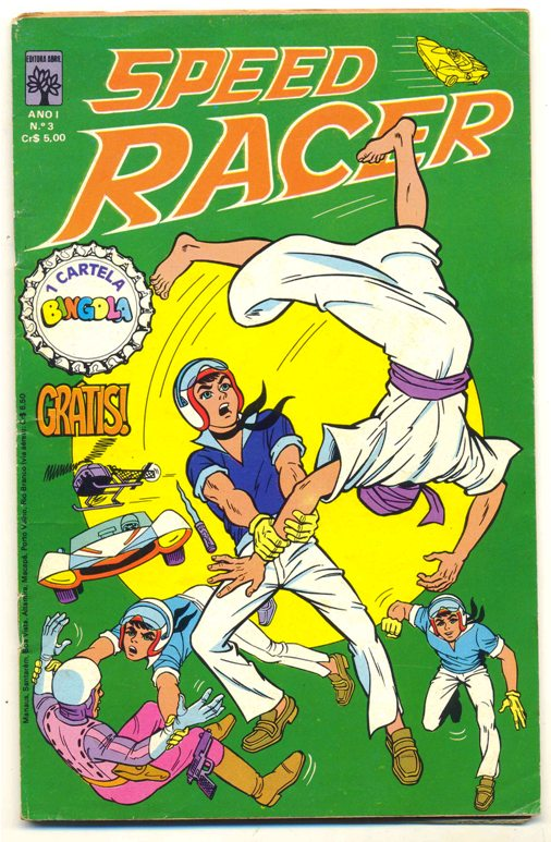 SPEED RACER nº03 - EDITORA ABRIL