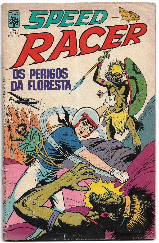 SPEED RACER nº12 - EDITORA ABRIL