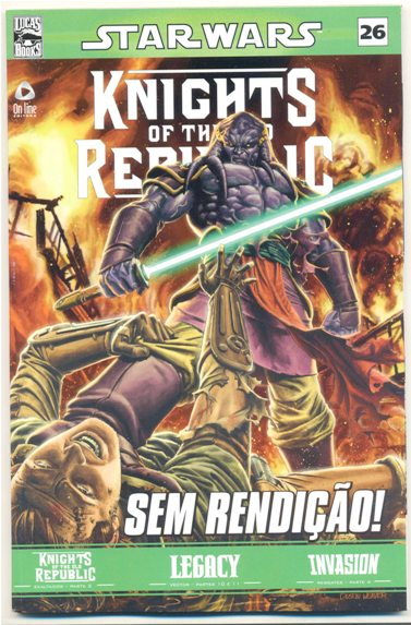 STAR WARS nº26 - KNIGHTS OF THE OLD REPUBLIC - ED. ON LINE