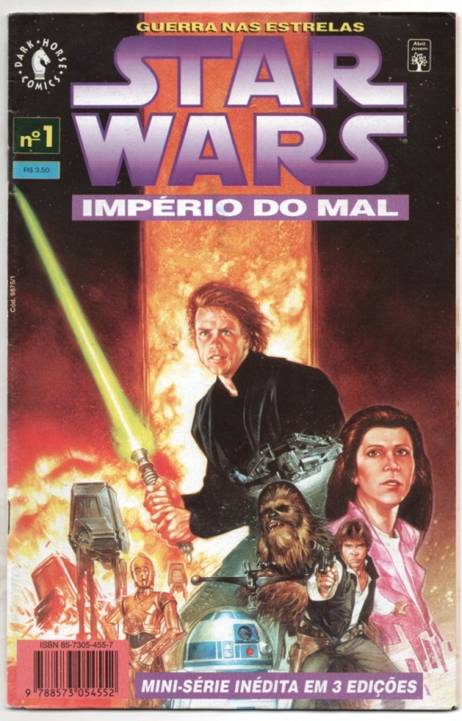 STAR WARS - IMPÉRIO DO MAL - PARTE 01 - ED. ABRIL
