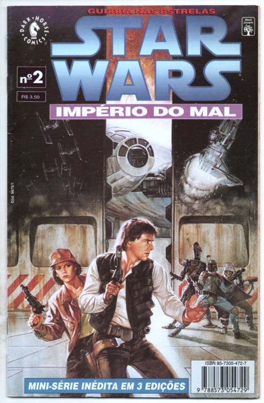 STAR WARS - IMPÉRIO DO MAL - PARTE 02 - ED. ABRIL