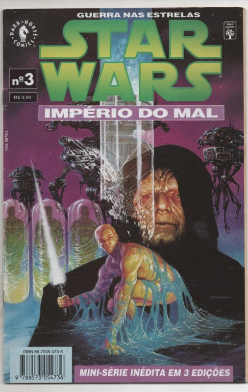 STAR WARS - IMPÉRIO DO MAL - PARTE 03 - ED. ABRIL