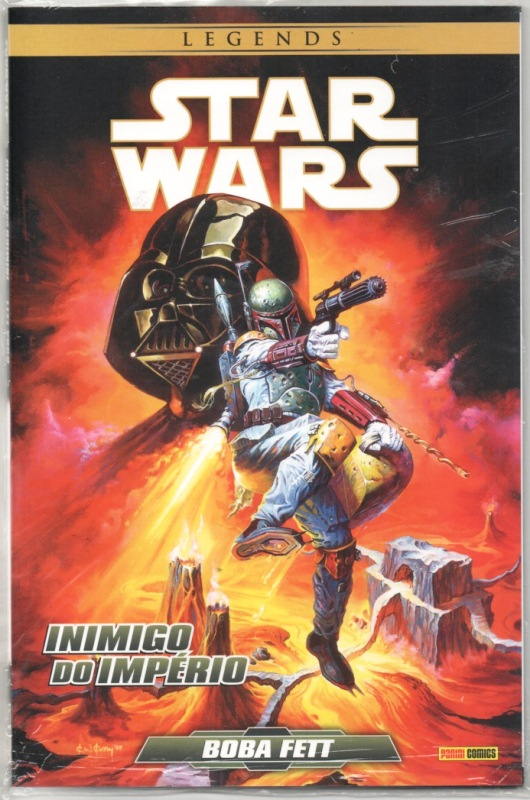 STAR WARS LEGENDS - BOBA FETT: INIMIGO DO IMPÉRIO - PANINI