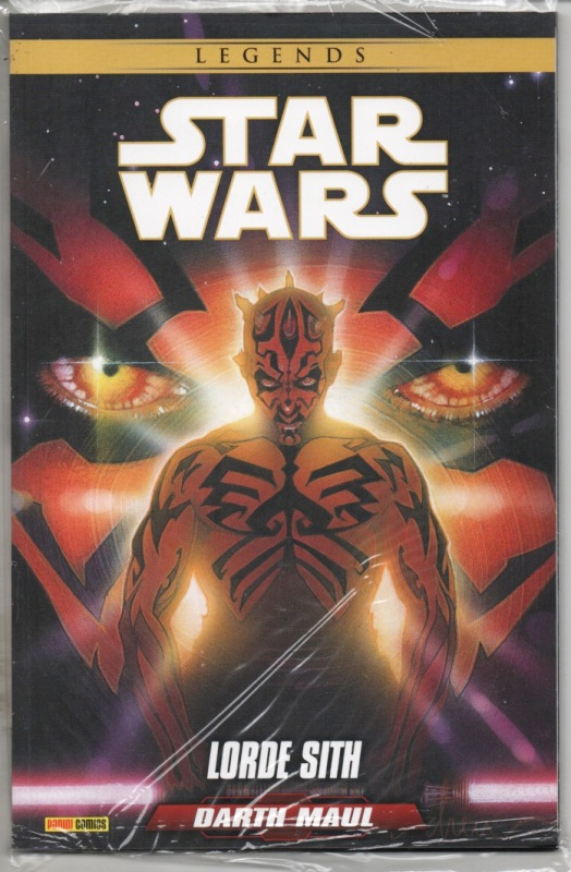 STAR WARS LEGENDS - DARTH MAUL - LORDE SITH - PANINI