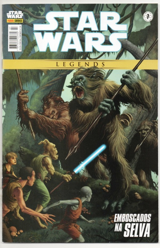 STAR WARS LEGENDS nº07 - EDITORA PANINI