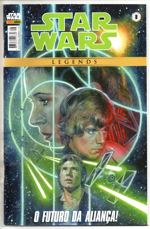 STAR WARS LEGENDS nº08 - EDITORA PANINI