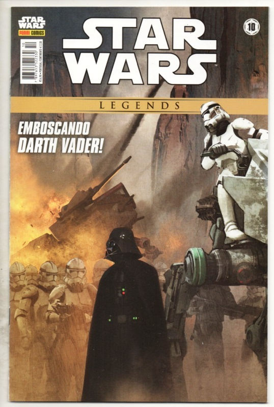 STAR WARS LEGENDS nº10 - EDITORA PANINI