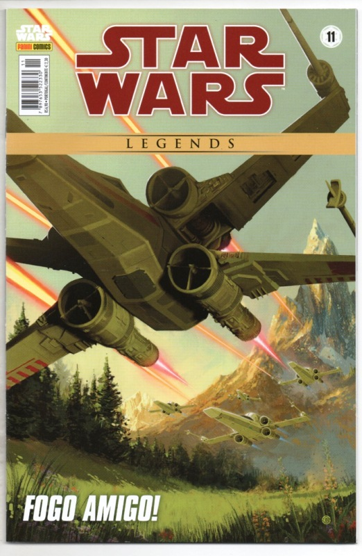 STAR WARS LEGENDS nº11 - EDITORA PANINI
