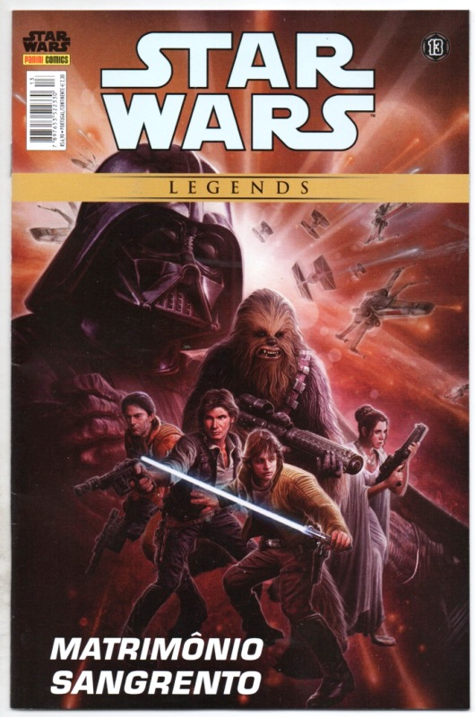 STAR WARS LEGENDS nº13 - EDITORA PANINI