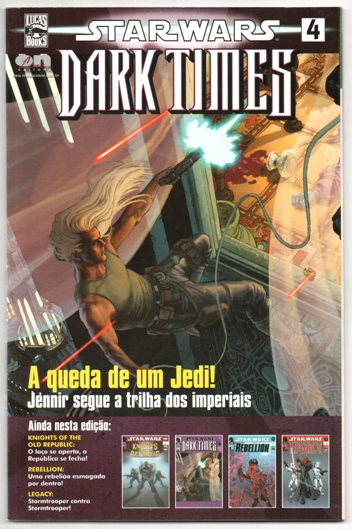 STAR WARS nº04 - DARK TIMES - ED. ON LINE