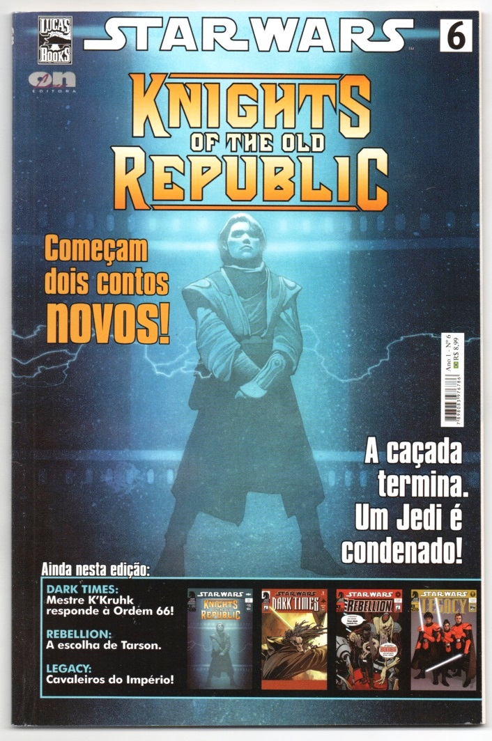 STAR WARS nº06 - KNIGHTS OF DE OLD REPLUBIC - ED. ON LINE
