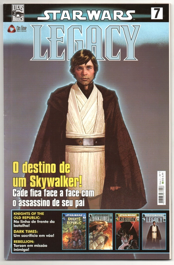 STAR WARS nº07 - LEGACY - ED. ON LINE