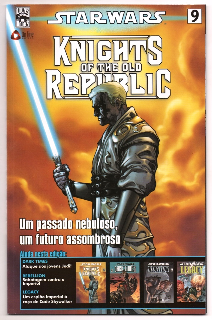 STAR WARS nº09 - KNIGHTS OF THE OLD REPUBLIC - ED. ON LINE