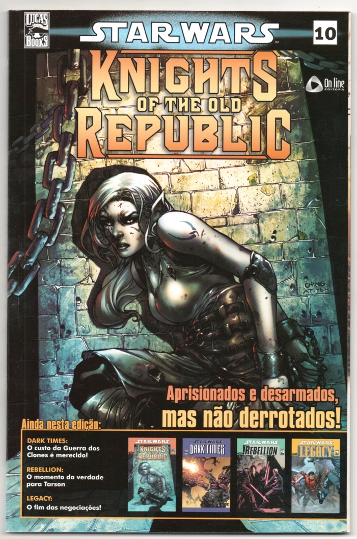 STAR WARS nº10 - KNIGHTS OF THE OLD REPUBLIC - ED. ON LINE