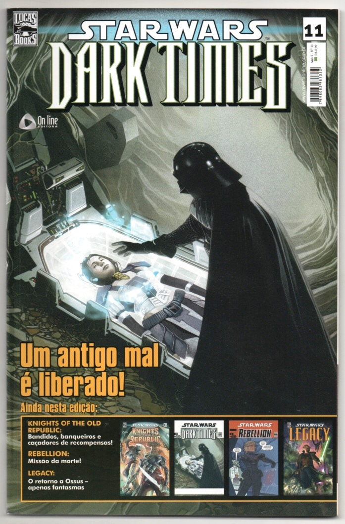 STAR WARS nº11 - DARK TIMES - ED. ON LINE