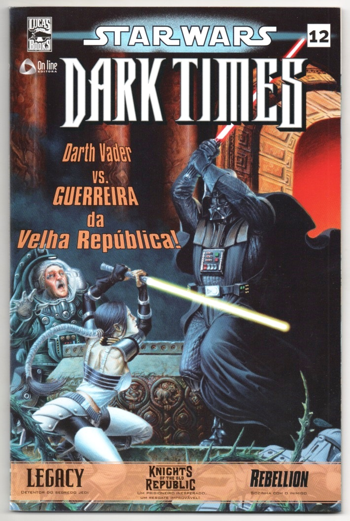 STAR WARS nº12 - DARK TIMES - ED. ON LINE