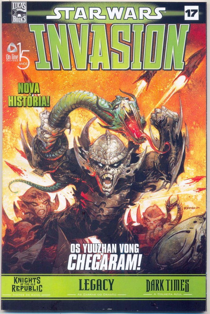 STAR WARS nº17 - INVASION - ED. ON LINE