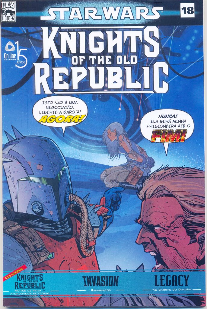 STAR WARS nº18 - KNIGHTS OF THE OLD REPUBLIC - ED. ON LINE