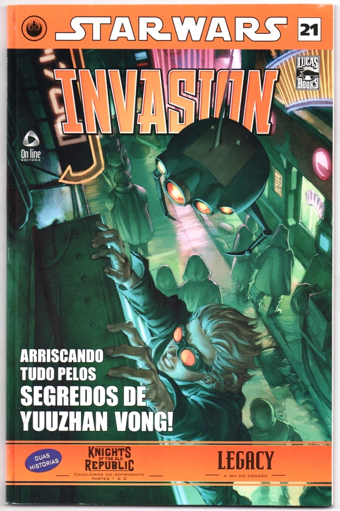 STAR WARS nº21 - INVASION - ED. ON LINE
