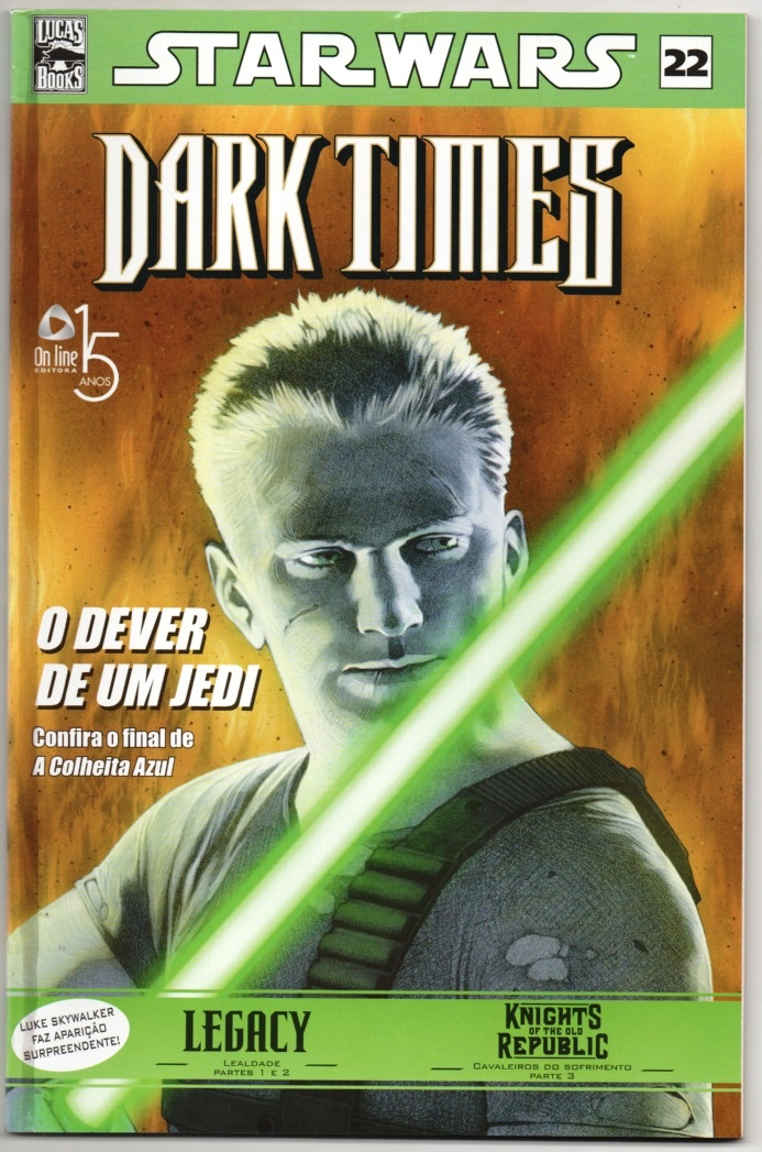 STAR WARS nº22 - DARK TIMES - ED. ON LINE