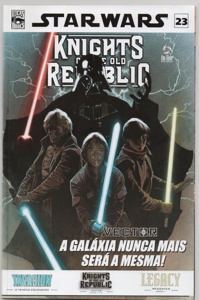STAR WARS nº23 - KNIGHTS OF THE OLD REPUBLIC - ED. ON LINE