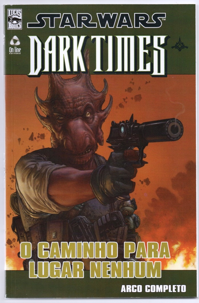 STAR WARS DARK TIMES ENCADERNADO nº01 - ED. ON LINE