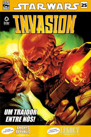 STAR WARS nº25 - INVASION - ED. ON LINE