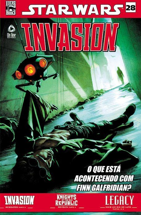 STAR WARS nº28 - INVASION - ED. ON LINE