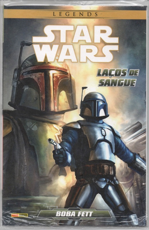 STAR WARS LEGENDS - BOBA FETT: LAÇOS DE SANGUE - PANINI