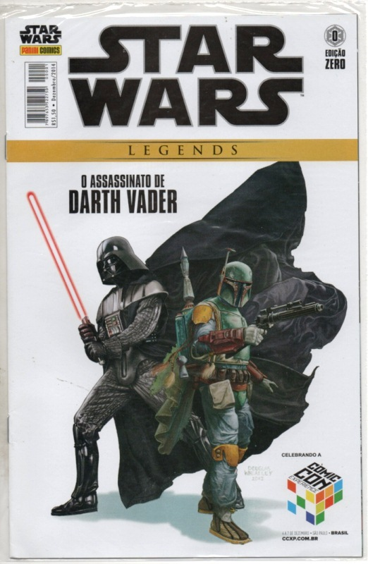 STAR WARS LEGENDS nº00 - EDITORA PANINI