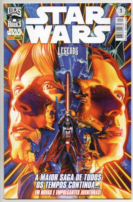 STAR WARS LEGENDS nº01 - EDITORA PANINI