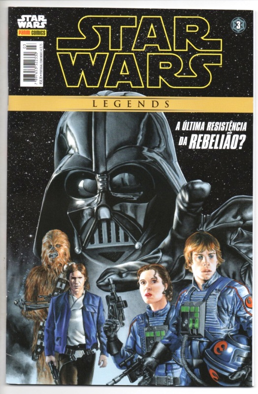 STAR WARS LEGENDS nº03 - EDITORA PANINI
