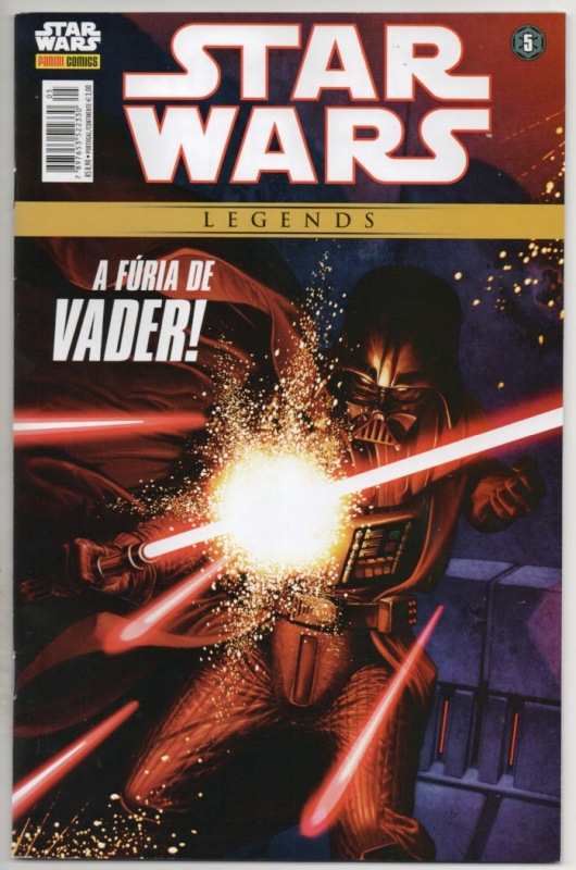 STAR WARS LEGENDS nº05 - EDITORA PANINI