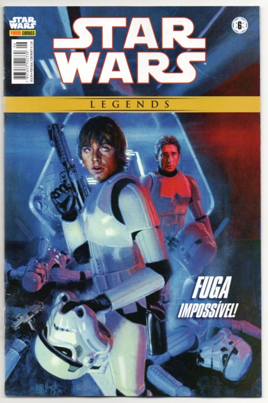 STAR WARS LEGENDS nº06 - EDITORA PANINI
